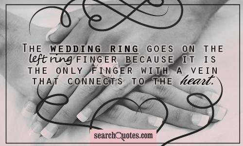 Quotes For Wedding Rings Wedding Rings