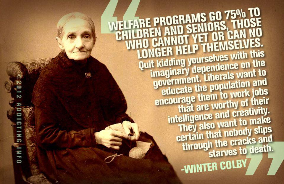 Welfare quote #4