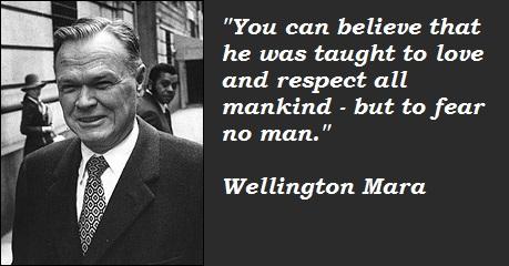 Wellington Mara's quote #4