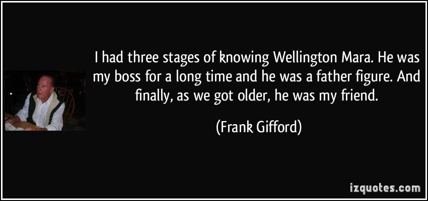 Wellington Mara's quote #1
