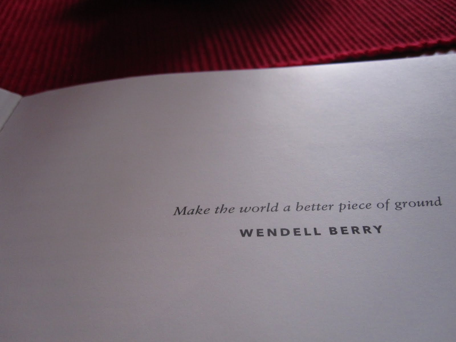 Wendell Berry's quote #3