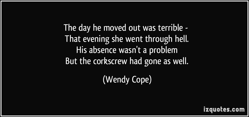 Wendy Cope's quote #2