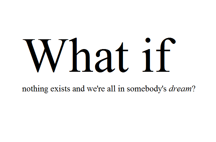 What If quote #2