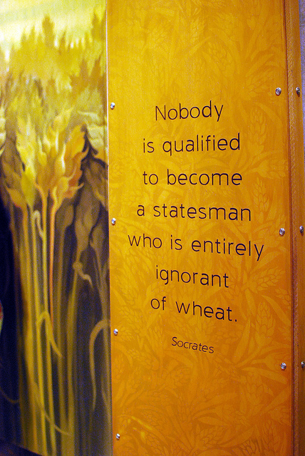 Wheat quote #1