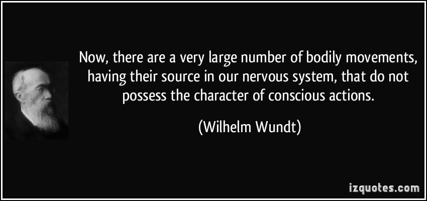 Wilhelm Wundt's quote #5