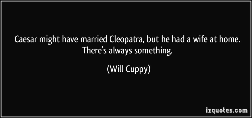 Will Cuppy's quote