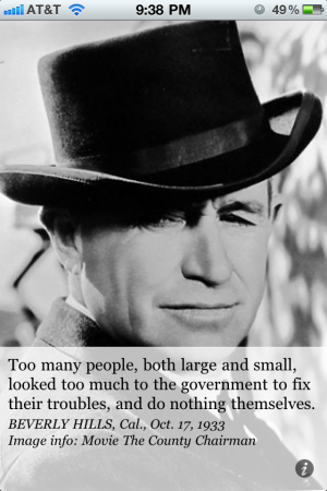 Will Rogers's quote #2