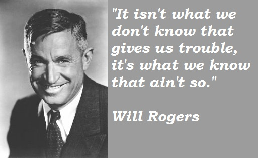 Will Rogers's quote #6