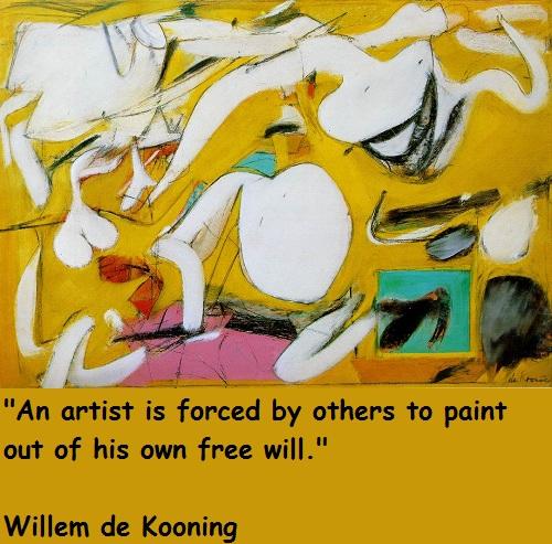 Willem de Kooning's quote #3