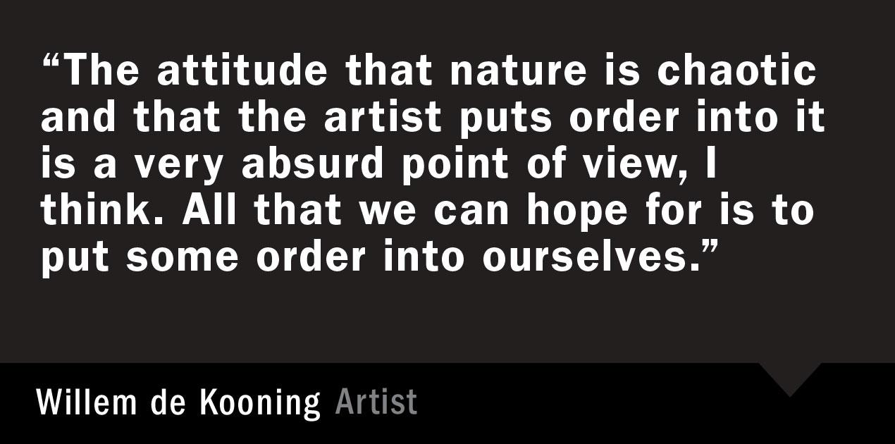 Willem de Kooning's quote #4
