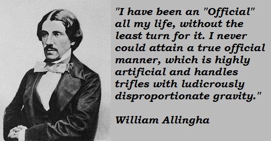 William Allingham's quote