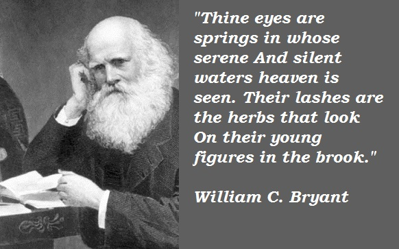 William C. Bryant's quote #4