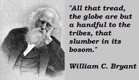 William C. Bryant's quote #7