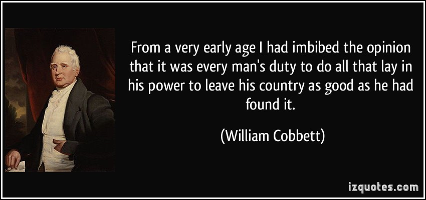 William Cobbett's quote #7