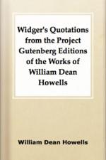 William Dean Howells's quote #2
