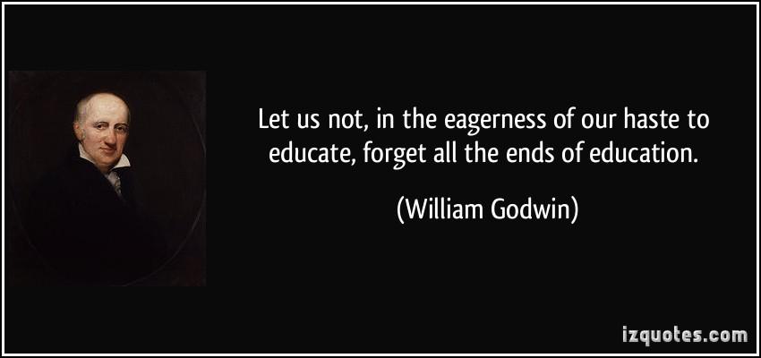 William Godwin's quote #3
