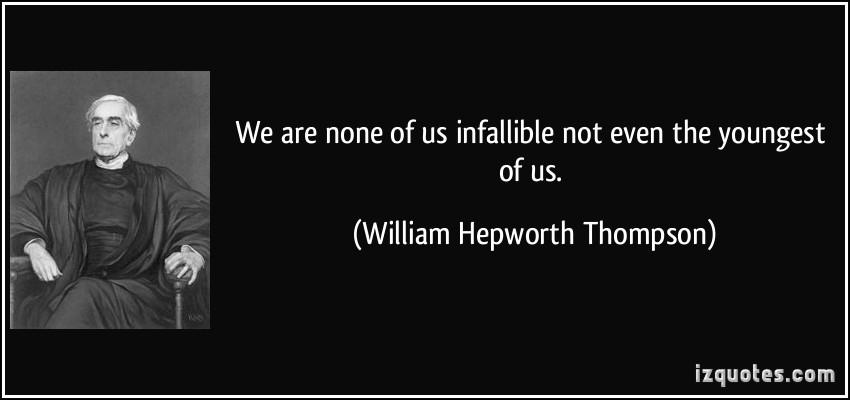 William Hepworth Thompson's quote #1