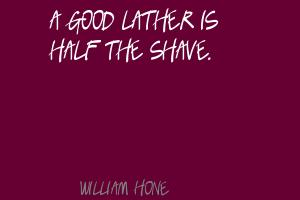 William Hone's quote