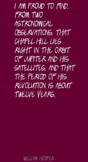 William Hooper's quote #1