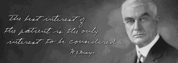 William J. Mayo's quote #1