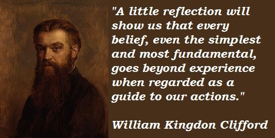 William Kingdon Clifford's quote #8