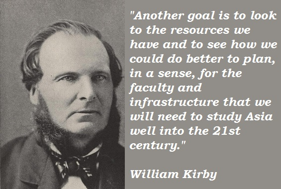 William Kirby's quote