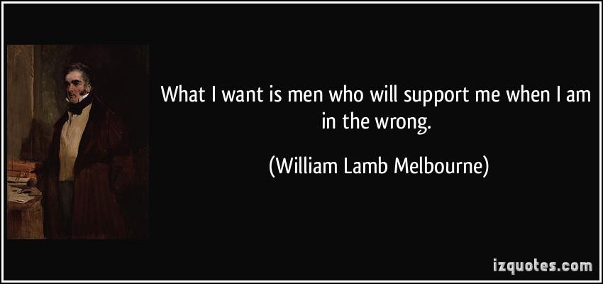 William Lamb Melbourne's quote #1