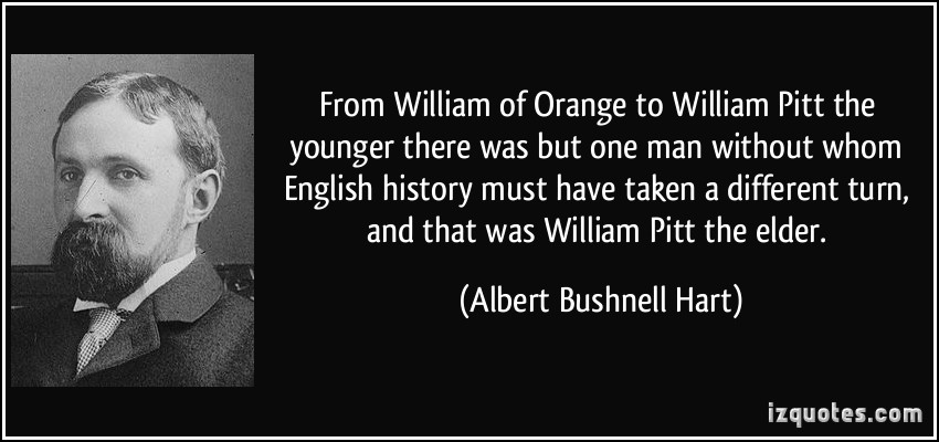 William Pitt's quote
