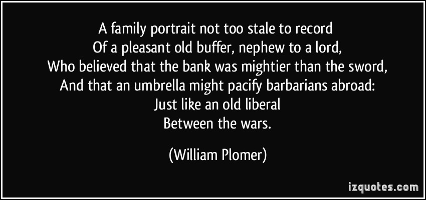 William Plomer's quote #2