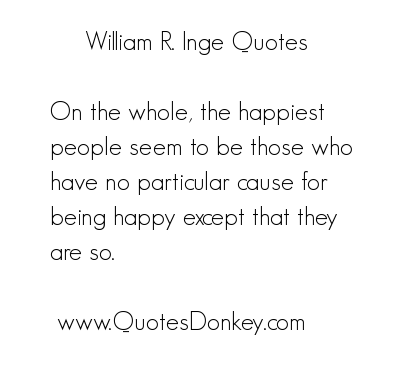 William Ralph Inge's quote #1