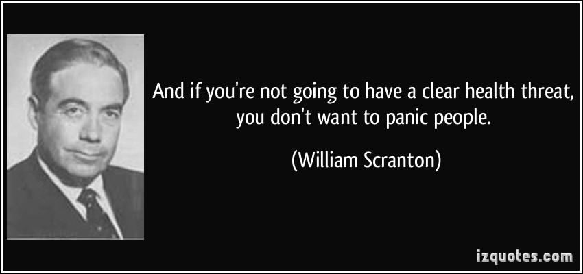 William Scranton's quote