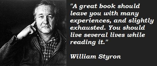 William Styron's quote #2