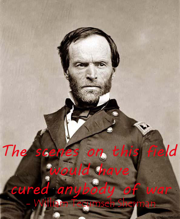 William Tecumseh Sherman's quote