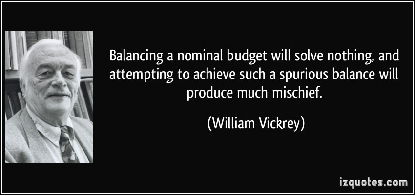 William Vickrey's quote #6