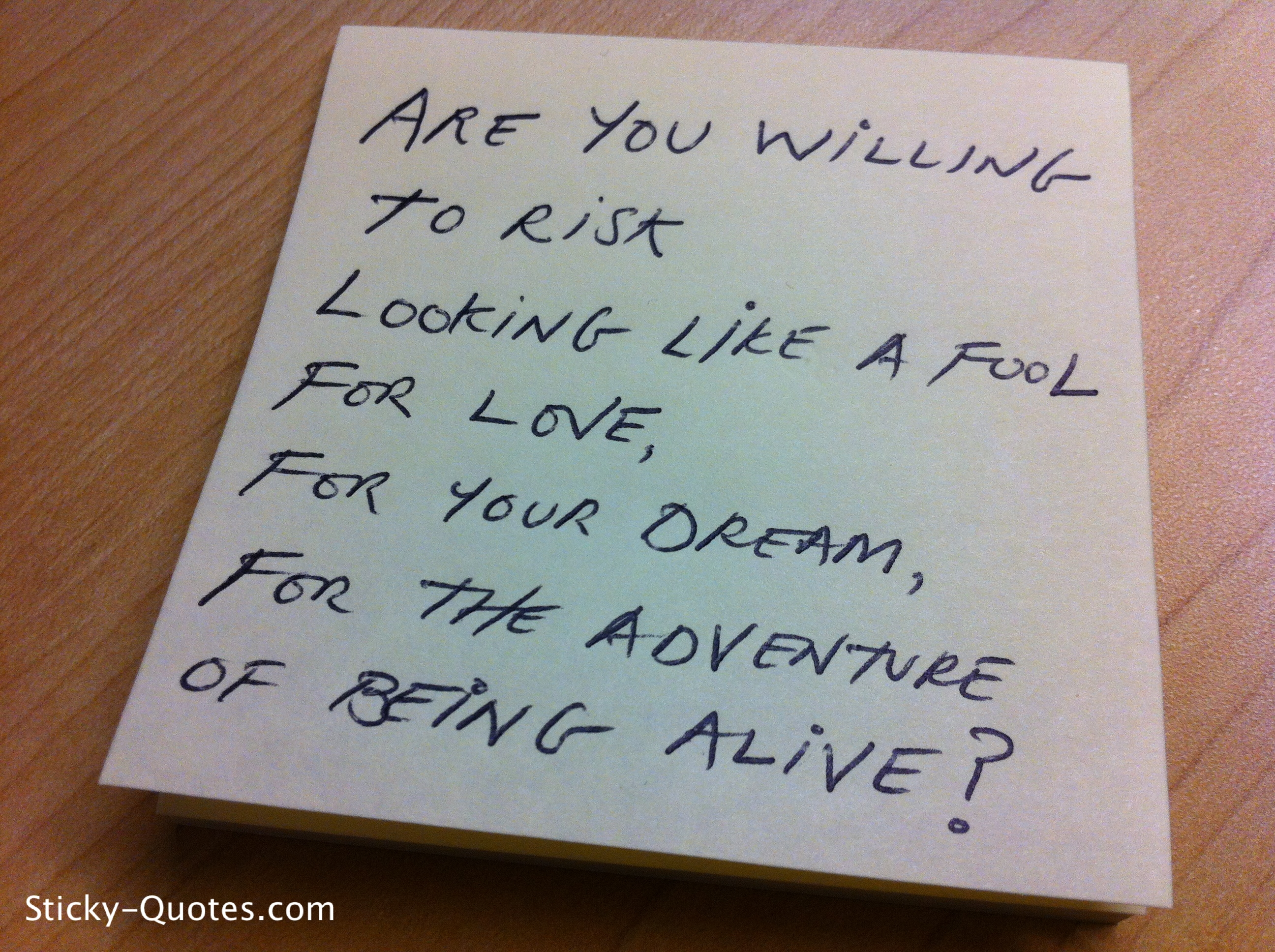 Willing quote #5