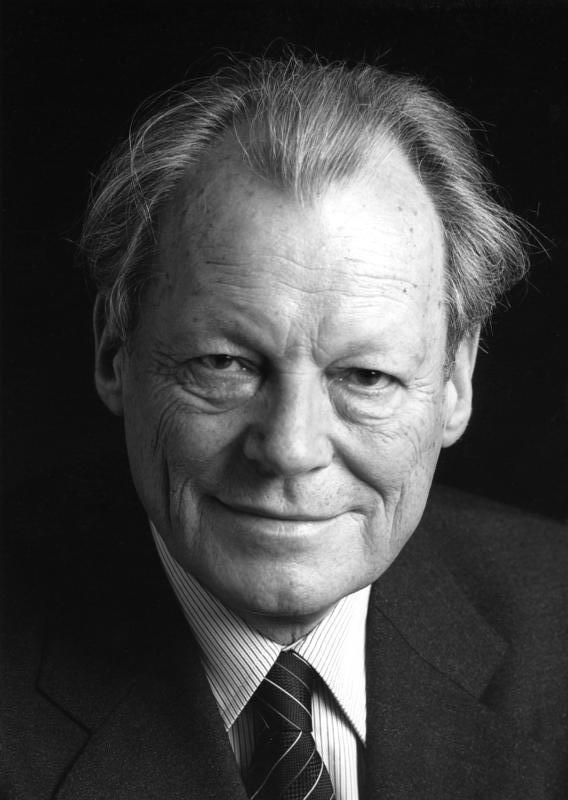 Willy Brandt's quote
