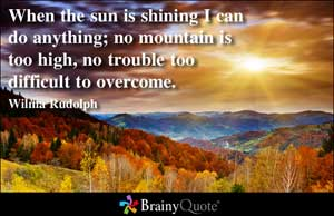 Wilma Rudolph's quote