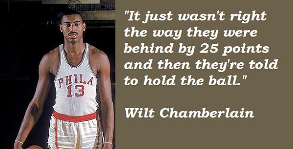 Wilt Chamberlain's quote #7