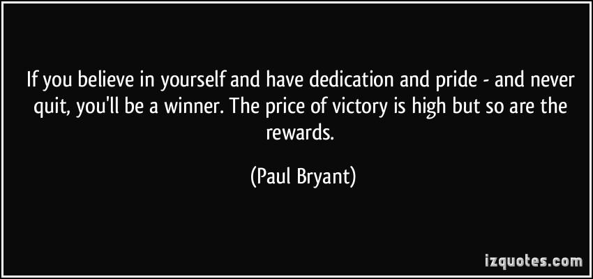 Winner quote #4