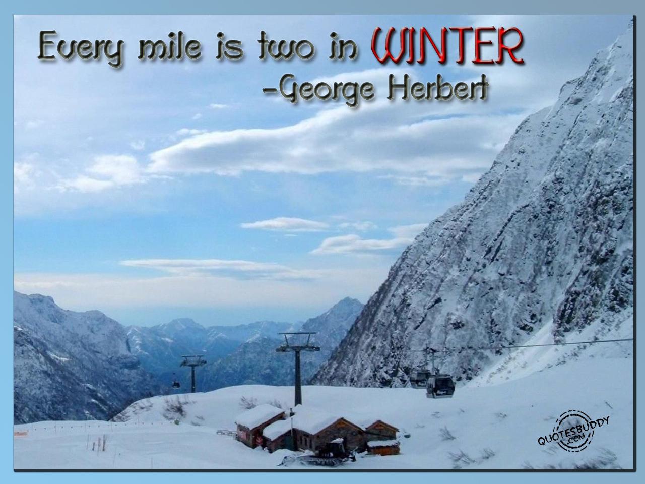 Winter quote #5