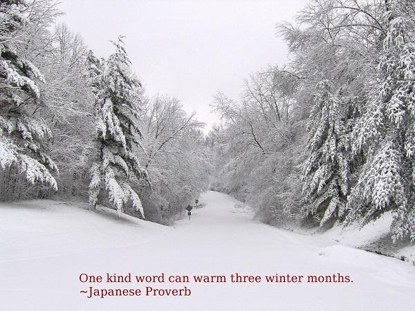 Winter quote #1