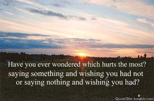 Wondered quote #3