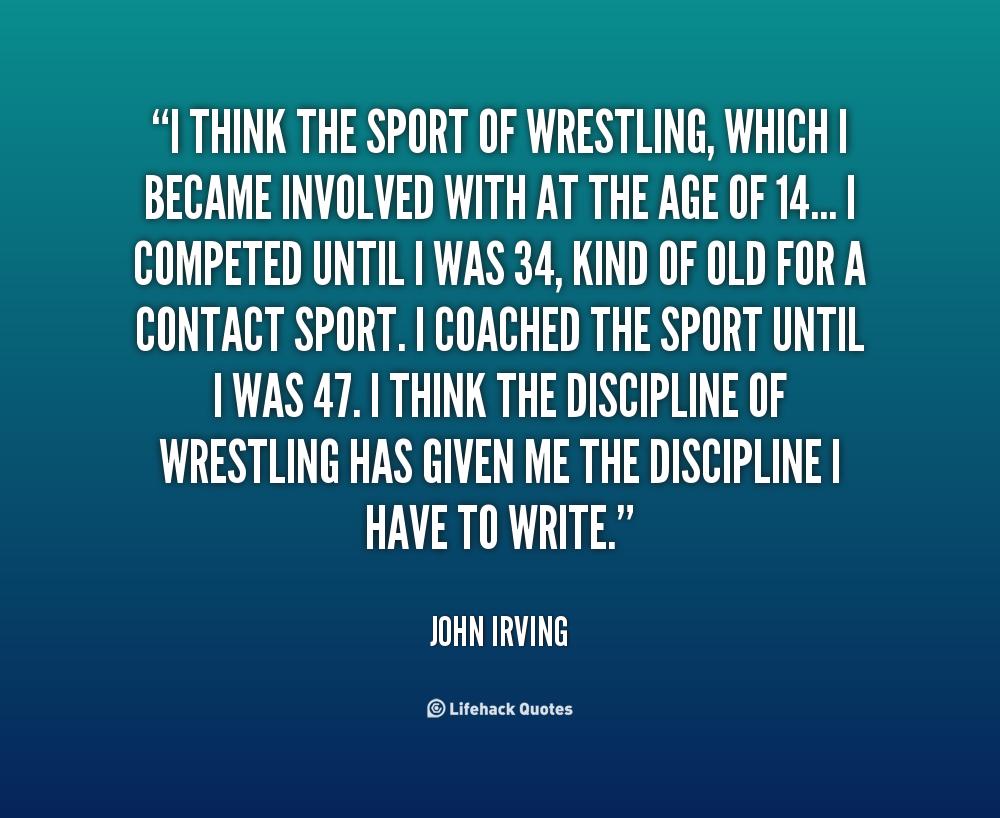 Wrestling quote #6