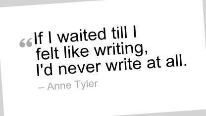 Writing quote #4