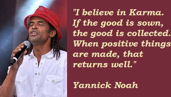 Yannick Noah's quote #1
