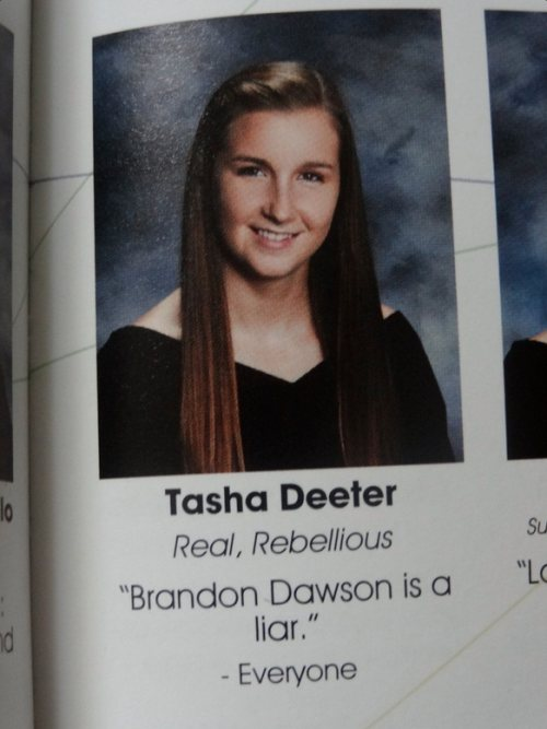 Yearbook quote #1