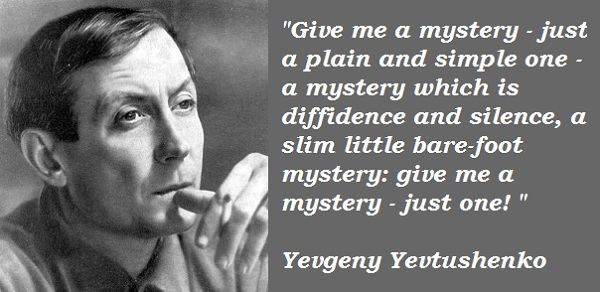 Yevgeny Yevtushenko's quote #1
