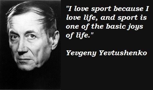 Yevgeny Yevtushenko's quote #2