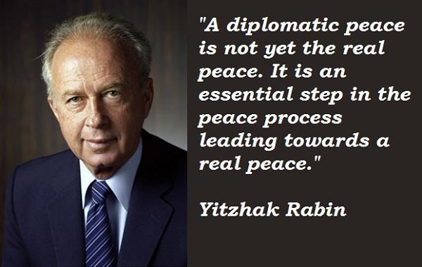 Yitzhak Rabin's quote #8