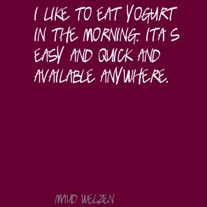 Yogurt quote #2